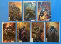 Dark Nights Death Metal #1-7 1 2 3 4 5 6 7 DC David Finch Variant Cover B Set NM