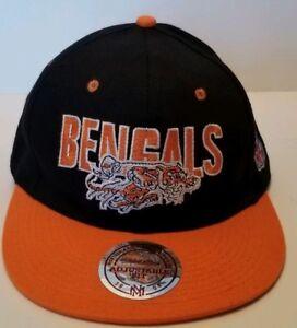 Cincinnati Bengals NFLSnap Back Cap Mitchell and Ness Nostalgia Adjustable fit