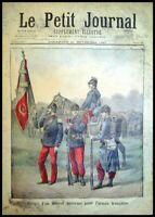 Le Petit Journal N°366 du 21/11/1897 Projet d'un nouvel uniforme pour l'armée