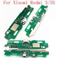 New Original USB Charging Dock Port &Microphone Flex Cable for Xiaomi Redmi 3/3S