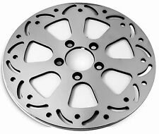 "DNA ""CRYSTAL"" FRONT 11.8"" POLISHED BRAKE ROTOR HARLEY 2008+ TOURING"