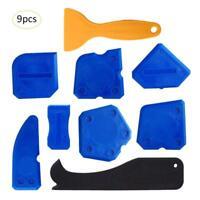 9pcs Sealant Smoothing Sink Silicone Grout Spreader Shower Caulk Finishing Tools