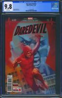 Daredevil 610 (Marvel) CGC 9.8 White Pages 1st full appearance of Vigil