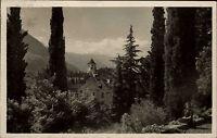 Bozen Gries Bolzano Südtirol Italien s/w AK 1928 gelaufen Motivo Teilansicht