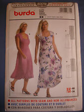 Burda 8379 sewing pattern dress sizes european 44 - 60