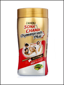 Zandu Sona Chandi ChyawanPlus 450gm / 900gm   Ayurveda   Herbal   Free Shipping