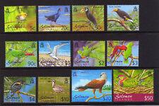 Birds Solomon Islander Stamps (1978-Now)