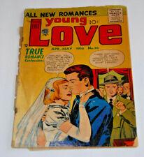 YOUNG LOVE #70 Jack KING Kirby Joe Simon VERY SCARCE Comic Book 1956 Prize Group