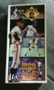 1990 Pittsburgh Pirates Record & Informational Guides