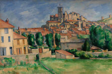 Gardanne by Paul Cézanne 60cm x 40cm Art Paper Print