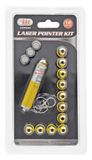 Iit Red Laser Beam Pointer Key Chain w/ 12 Head Patterns Pet Dog Cat Toy