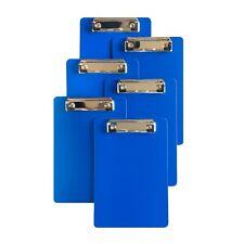 Flexible Plastic 6 X 9 Inch A5 Clipboard Lot Of Six 6