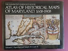 Atlas of Historical Maps of Maryland 1608-1908 Papenfuse & Coale