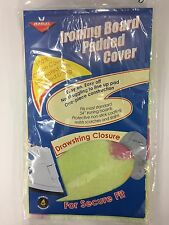 "Ironing Board Padded Cover Fits Most 54"" Ironing Boards Green (New)"