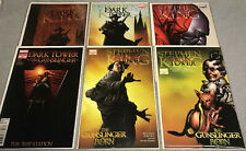 STEPHEN KING-DARK TOWER 1,2,3,4,5 (9.6-9.8) The Gunslinger Born & Sketchbook