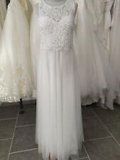 Robe de mariée IVOIRE Taille 40 -  LIVRABLE DE SUITE  style bohème