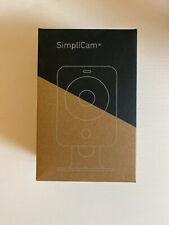 SimpliSafe - SimpliCam Indoor HD Wi-Fi Security Camera Black Brand New!!!