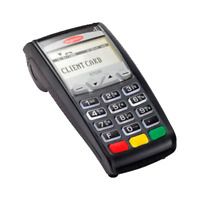 "Ingenico ICT220 IP/Dial  EMV Credit Card Machine FOR ""ELAVON"" ONLY -  ""LOCKED"""