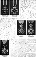 War Medals MEDAL OF HONOR Victoria Cross IRON CROSS Order of Savoy 1918 Pictures