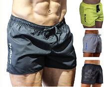 NAKD Flex shorts BODYBUILDING GYM TRAINING SHORT MENS RUNNING WORKOUT LIFT Black