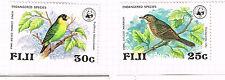 Fiji Fauna Birds stamps 1978 MLH