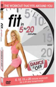 Fit in 5 to 20 Minutes: Dance It Off (UK IMPORT) DVD NEW