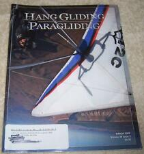 Hang Gliding & Paragliding Magazine March 2009