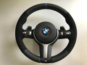 BMW F30 F32 F36 F20 F15 F25 F33 Lenkrad Alcantara Neu Beziehen Steering Wheel
