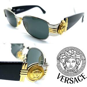 Gianni Versace Mod.S73 Col.15L Vintage Sunglasses / Eyeglasses Migos Gold 20407