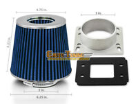 """3/"""" Cold Air Intake Filter Universal BLK For i//J//JX//Q//QX 30 35 40 45 50 60 70 80"""