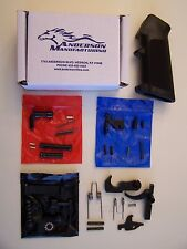 Anderson Mfg. 308 Lower Parts Kit (Black Stainless)