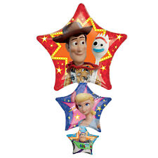 Toy Story Stacked Stars Supershape Foil Balloon 106cm Toy Story Party Decoration