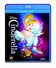 DISNEY Diamond Edition PRINCESS CINDERELLA MOVIE [Blu-ray/DVD/] 2 Discs