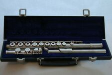 Vintage 1969 Gemeinhardt USA 3.1ozt Solid Silver Head Joint M3 Flute with C Foot