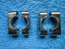 BSA BANTAM D1, D3 ETC, TOP & BOTTOM HANDLEBAR CLAMPS ST/STEEL. 65-5333. 90-5046