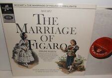 SAX 2573 Mozart The Marriage Of Figaro Philharmonia Orch Carlo Maria Giulini E/R