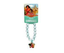 Elena of Avalor Disney Princess Girls Beaded Bracelet with Plastic Charm Cute!