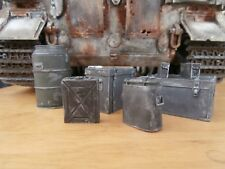 Lowlski 1/16 120mm Scale '7 peice Ammo & Equipment Boxes'