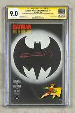 Batman Dark Knight Returns 3 CGC 9.0 Signed SS signed by Frank Miller
