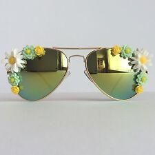 Early Spring II - PinksAndMinks Reflective Embellished Sunglasses Flowers