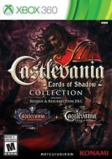 Castlevania: Lords Of Shadow Collection [Xbox 360, NTSC, Action Adventure] NEW