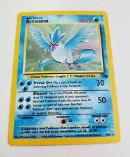 New listing A3 Pokemon Fossil Set Rare Holo Articuno 2/62 Near Mint!