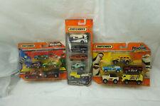 MATCHBOX TOY CAR MULTI PACK LOT 3 CAMPING BATMAN PENGUINS MADAGASCAR 15 CARS NEW