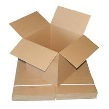 20 x Cardboard Boxes 400x400x400mm Brown Packaging Carton Mailing Box Strong