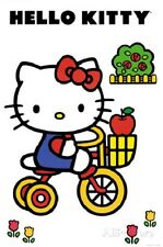 HELLO KITTY TRICYCLE POSTER PRINT NEW 24x36 FREE SHIPPING