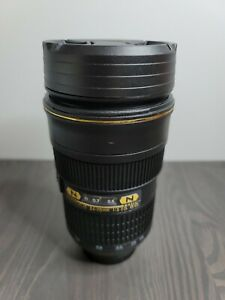 Camera Lens Black Mug Cup Tea Coffee Thermo with Lid Travel Great Thermos