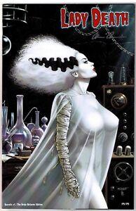Lady Death Secrets #1 Bride Returns Exclusive Variant Ltd 175/175 Signed W COA!