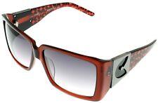 Gianfranco Ferre Sunglasses Women Burgundy Havana Rectangular GF957 03