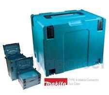 Organizadores cajas de herramientas de bricolaje Makita de plástico