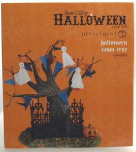 """DEPT 56 HALLOWEEN """"HALLOWEEN TOWN TREE"""" """"BRAND NEW"""""""